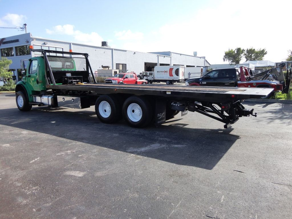 2012 Freightliner BUSINESS CLASS M2 28FT 15 TON ROLLBACK INDUSTRIAL JERRDAN.. TANDEM AXLE.. - 19381720 - 7