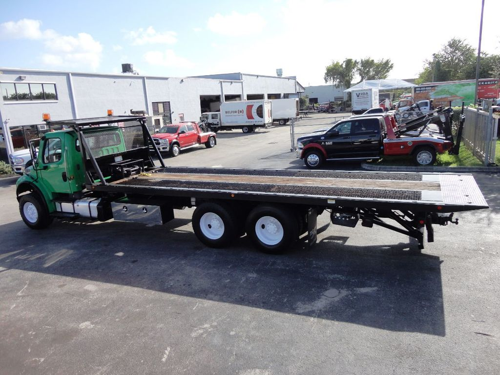 2012 Freightliner BUSINESS CLASS M2 28FT 15 TON ROLLBACK INDUSTRIAL JERRDAN.. TANDEM AXLE.. - 19381720 - 8