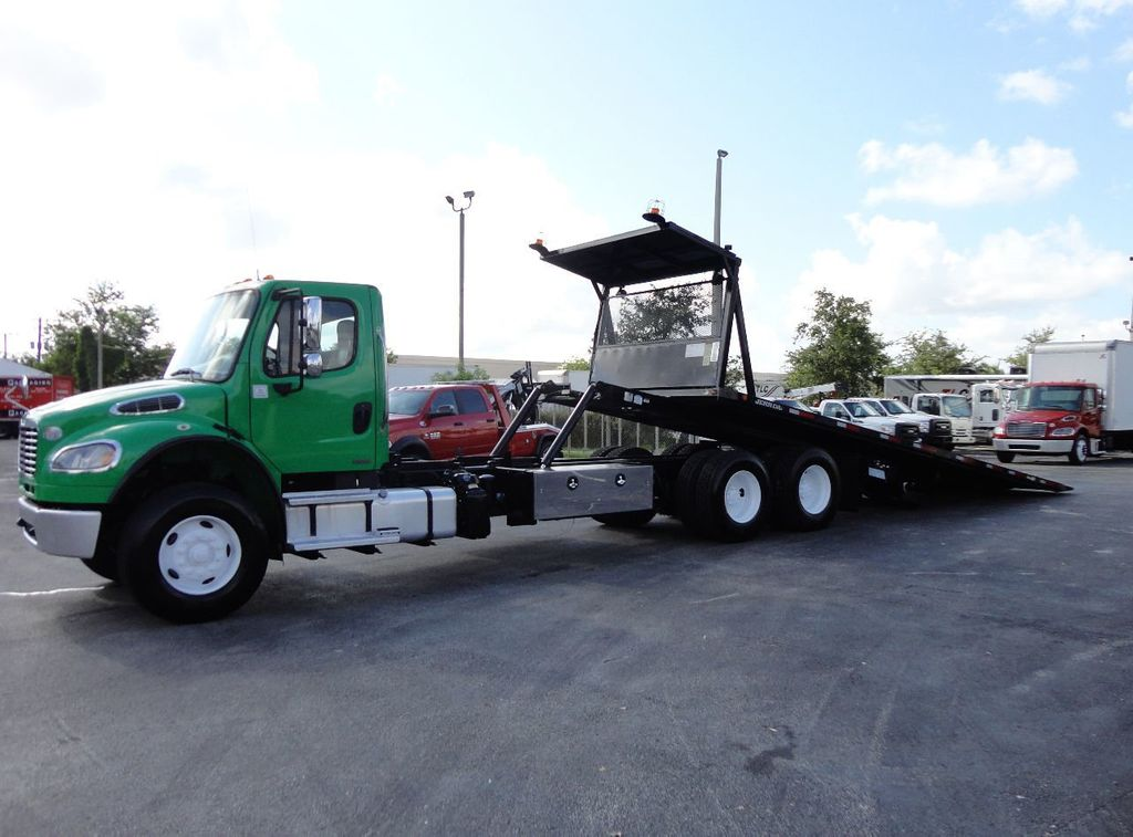 2012 Freightliner BUSINESS CLASS M2 28FT 15 TON ROLLBACK INDUSTRIAL JERRDAN.. TANDEM AXLE.. - 17742668 - 1