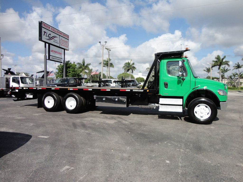 2012 Freightliner BUSINESS CLASS M2 28FT 15 TON ROLLBACK INDUSTRIAL JERRDAN.. TANDEM AXLE.. - 17742668 - 40