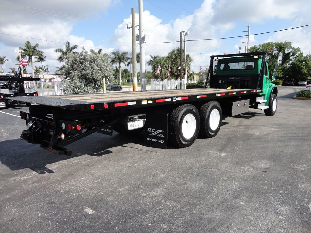 2012 Freightliner BUSINESS CLASS M2 28FT 15 TON ROLLBACK INDUSTRIAL JERRDAN.. TANDEM AXLE.. - 17742668 - 41