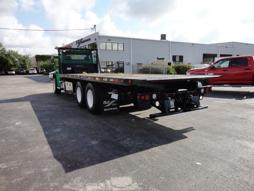 2012 Freightliner BUSINESS CLASS M2 28FT 15 TON ROLLBACK INDUSTRIAL JERRDAN.. TANDEM AXLE.. - 17742668 - 44