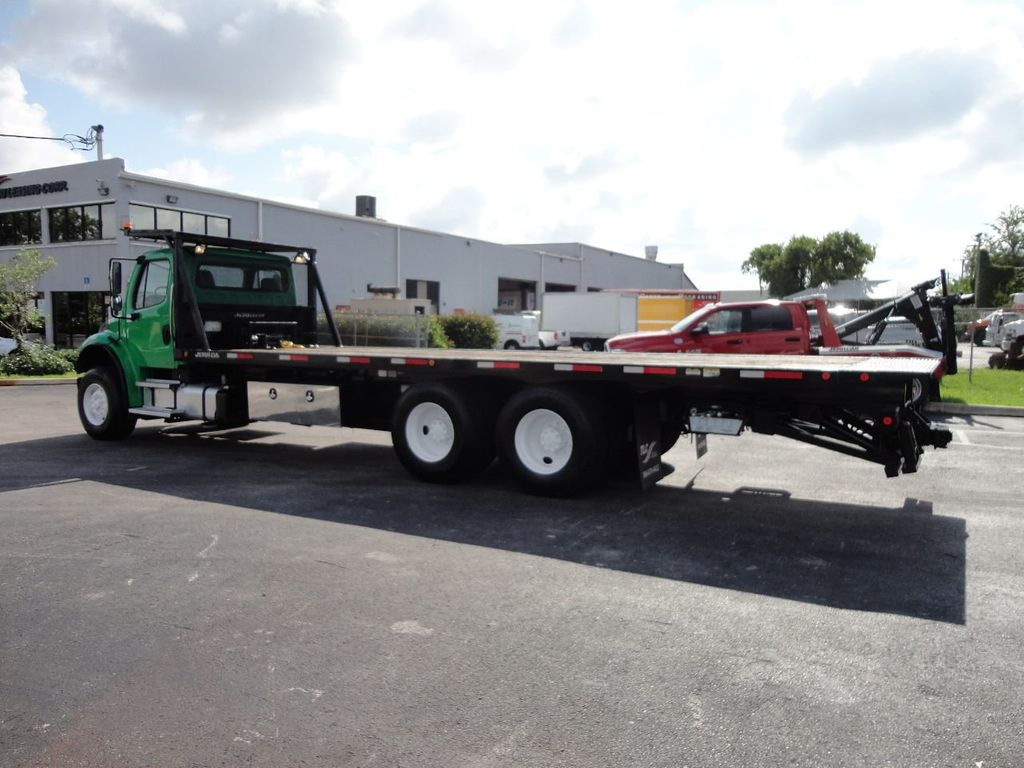 2012 Freightliner BUSINESS CLASS M2 28FT 15 TON ROLLBACK INDUSTRIAL JERRDAN.. TANDEM AXLE.. - 17742668 - 45