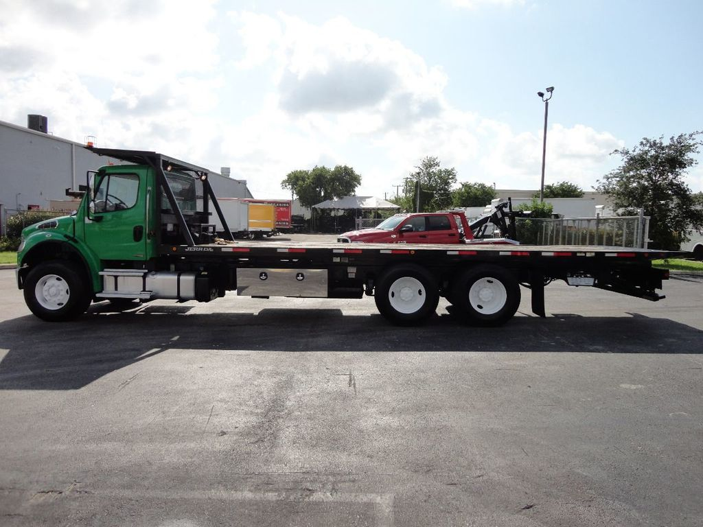 2012 Freightliner BUSINESS CLASS M2 28FT 15 TON ROLLBACK INDUSTRIAL JERRDAN.. TANDEM AXLE.. - 17742668 - 46