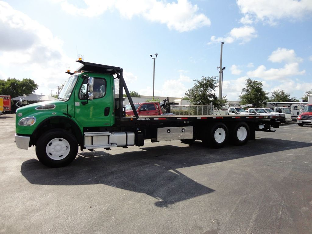 2012 Freightliner BUSINESS CLASS M2 28FT 15 TON ROLLBACK INDUSTRIAL JERRDAN.. TANDEM AXLE.. - 17742668 - 47