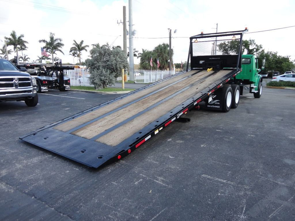 2012 Freightliner BUSINESS CLASS M2 28FT 15 TON ROLLBACK INDUSTRIAL JERRDAN.. TANDEM AXLE.. - 17742668 - 5