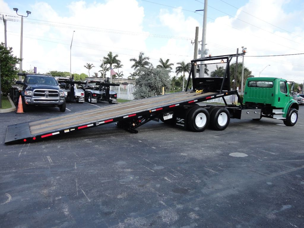 2012 Freightliner BUSINESS CLASS M2 28FT 15 TON ROLLBACK INDUSTRIAL JERRDAN.. TANDEM AXLE.. - 17742668 - 6