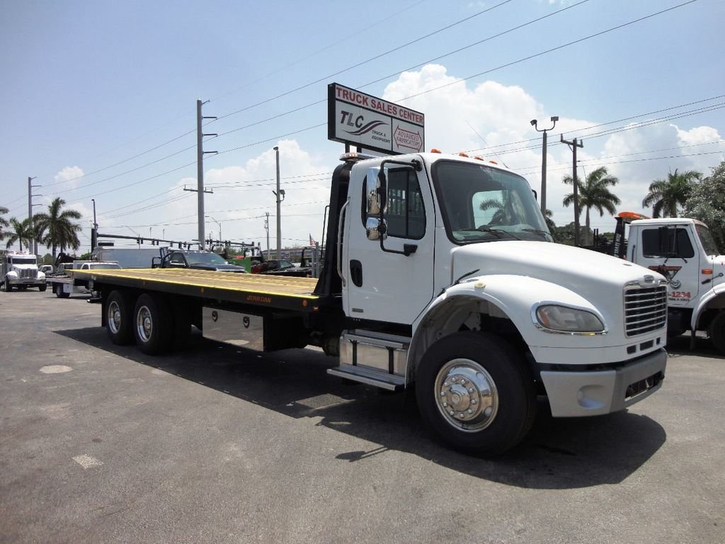 2012 Freightliner BUSINESS CLASS M2 *NEW* 28FT JERRDAN ROLLBACK TOW TRUCK 10TON INDUSTRIAL - 19096062 - 0