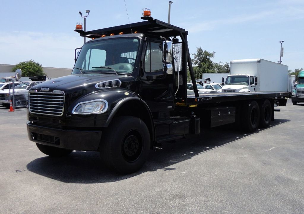 2012 Freightliner BUSINESS CLASS M2 ROLLBACK 28FT.15 TON INDUSTRIAL JERRDAN.. TANDEM AXLE.. - 17857325 - 0