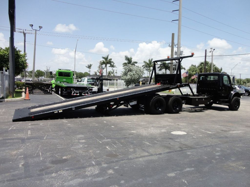 2012 Freightliner BUSINESS CLASS M2 ROLLBACK 28FT.15 TON INDUSTRIAL JERRDAN.. TANDEM AXLE.. - 17857325 - 10