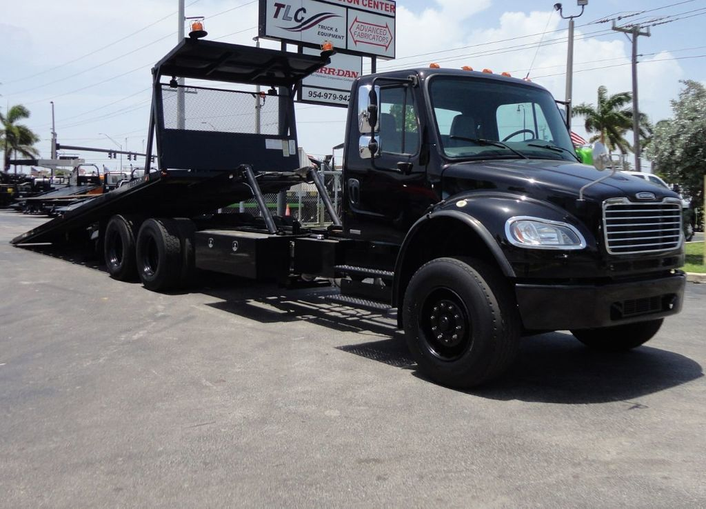 2012 Freightliner BUSINESS CLASS M2 ROLLBACK 28FT.15 TON INDUSTRIAL JERRDAN.. TANDEM AXLE.. - 17857325 - 1