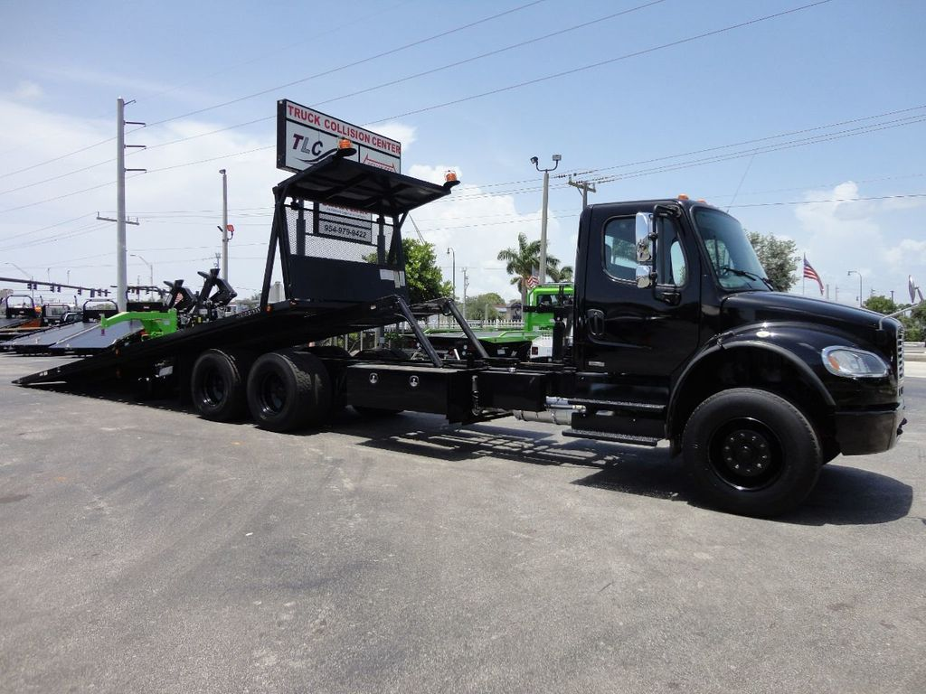 2012 Freightliner BUSINESS CLASS M2 ROLLBACK 28FT.15 TON INDUSTRIAL JERRDAN.. TANDEM AXLE.. - 17857325 - 2