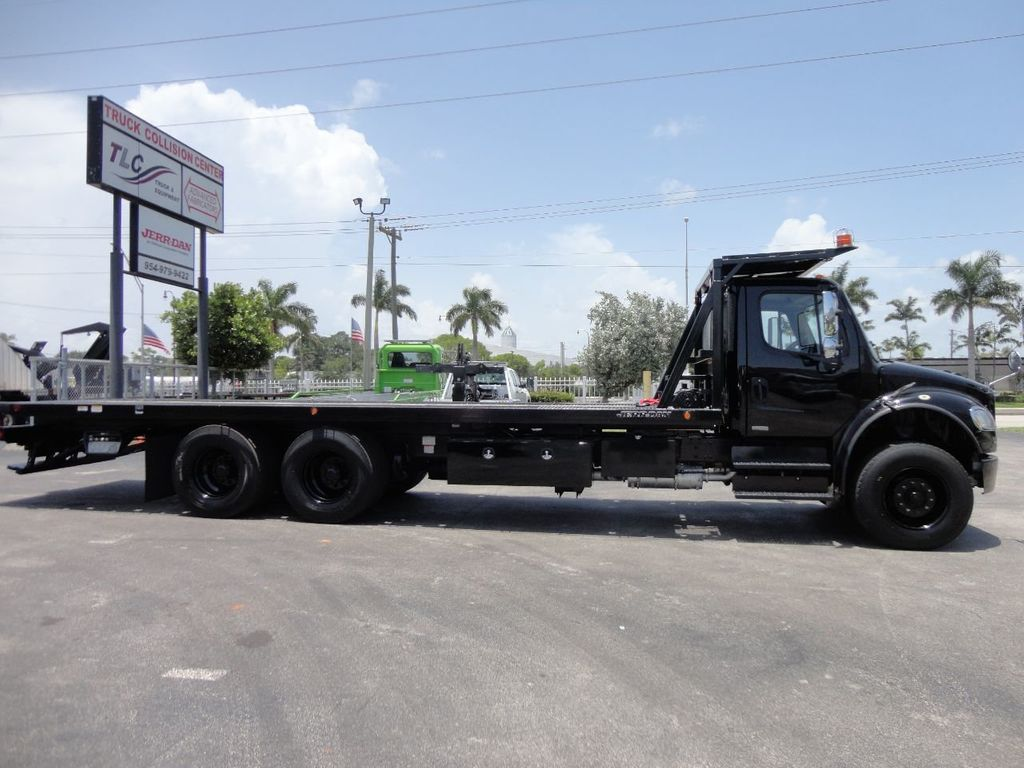 2012 Freightliner BUSINESS CLASS M2 ROLLBACK 28FT.15 TON INDUSTRIAL JERRDAN.. TANDEM AXLE.. - 17857325 - 45