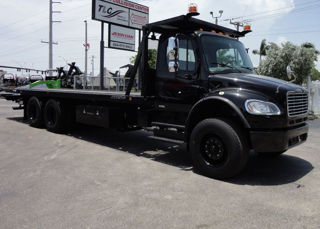 2012 Freightliner BUSINESS CLASS M2 ROLLBACK 28FT.15 TON INDUSTRIAL JERRDAN.. TANDEM AXLE.. - 17857325 - 46