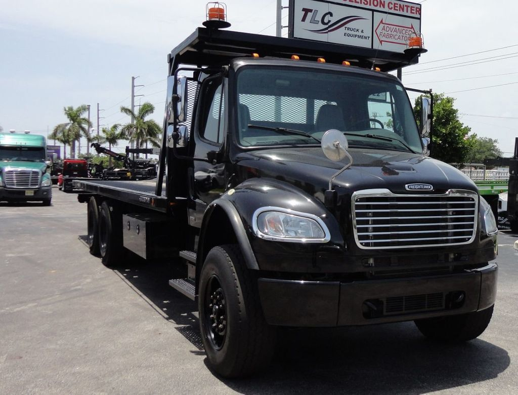 2012 Freightliner BUSINESS CLASS M2 ROLLBACK 28FT.15 TON INDUSTRIAL JERRDAN.. TANDEM AXLE.. - 17857325 - 47