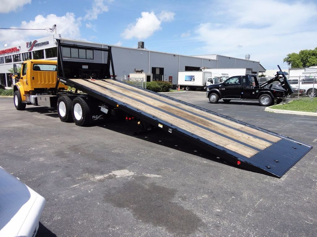 2012 Freightliner BUSINESS CLASS M2 TANDEM AXLE.. JERR-DAN 28FT INDUSTRIAL 15 TON ROLLBACK - 16601672 - 15