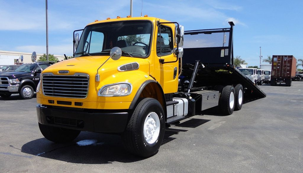 2012 Freightliner BUSINESS CLASS M2 TANDEM AXLE.. JERR-DAN 28FT INDUSTRIAL 15 TON ROLLBACK - 16601672 - 1