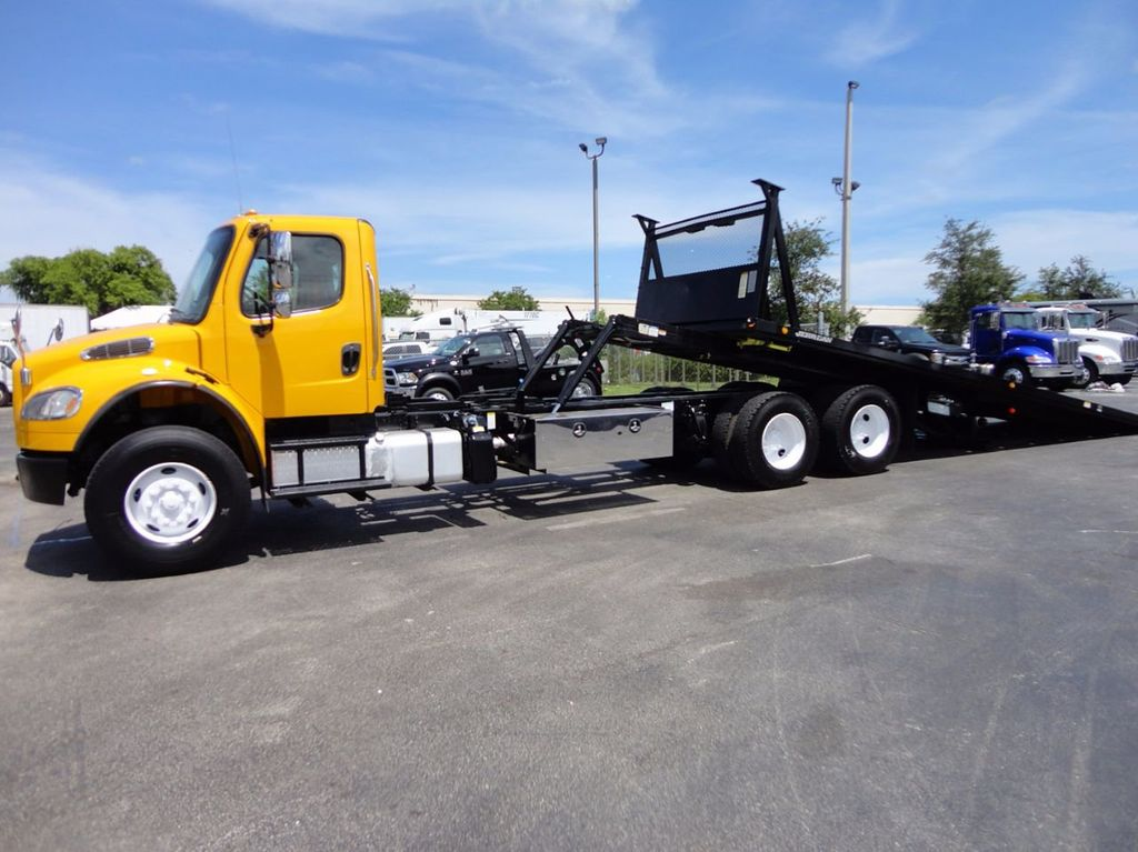 2012 Freightliner BUSINESS CLASS M2 TANDEM AXLE.. JERR-DAN 28FT INDUSTRIAL 15 TON ROLLBACK - 16601672 - 2