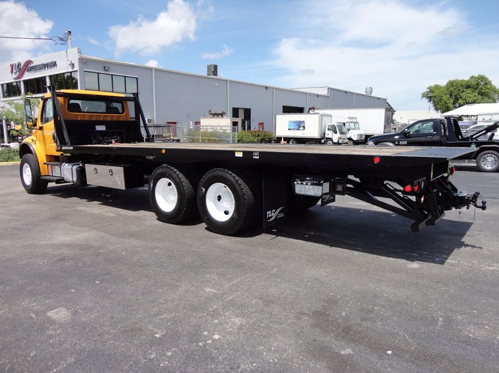2012 Freightliner BUSINESS CLASS M2 TANDEM AXLE.. JERR-DAN 28FT INDUSTRIAL 15 TON ROLLBACK - 16601672 - 30