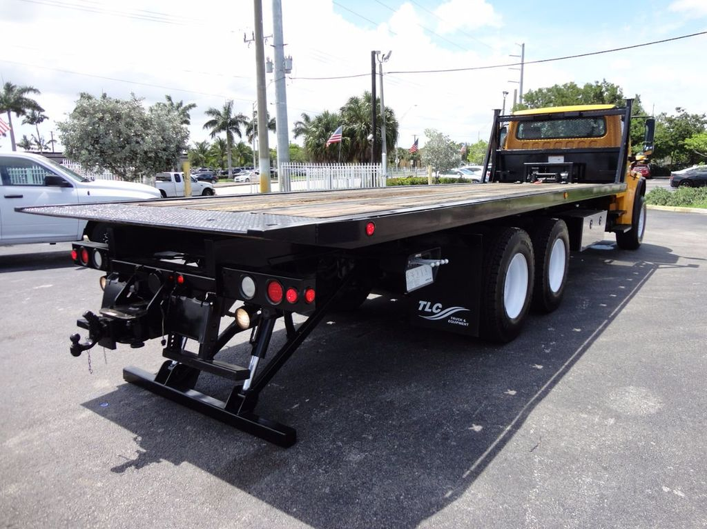 2012 Freightliner BUSINESS CLASS M2 TANDEM AXLE.. JERR-DAN 28FT INDUSTRIAL 15 TON ROLLBACK - 16601672 - 32