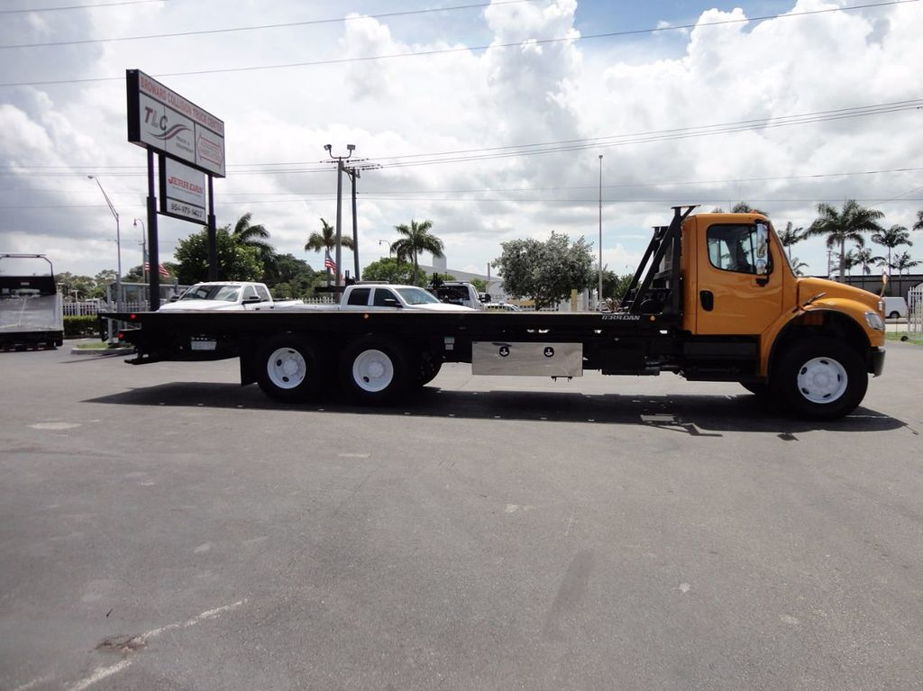 2012 Freightliner BUSINESS CLASS M2 TANDEM AXLE.. JERR-DAN 28FT INDUSTRIAL 15 TON ROLLBACK - 16601672 - 39