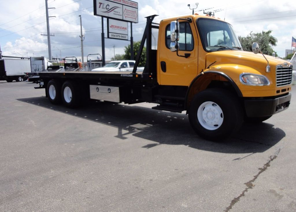 2012 Freightliner BUSINESS CLASS M2 TANDEM AXLE.. JERR-DAN 28FT INDUSTRIAL 15 TON ROLLBACK - 16601672 - 40