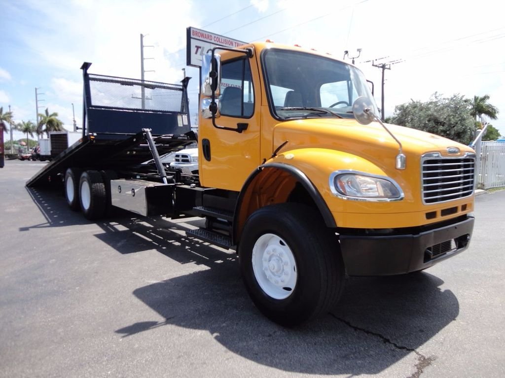 2012 Freightliner BUSINESS CLASS M2 TANDEM AXLE.. JERR-DAN 28FT INDUSTRIAL 15 TON ROLLBACK - 16601672 - 4