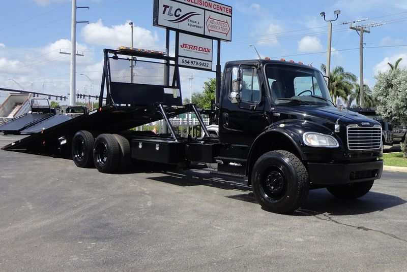 2012 Freightliner BUSINESS CLASS M2 TANDEM AXLE.. JERR-DAN 28FT INDUSTRIAL 15 TON ROLLBACK - 16666132 - 0