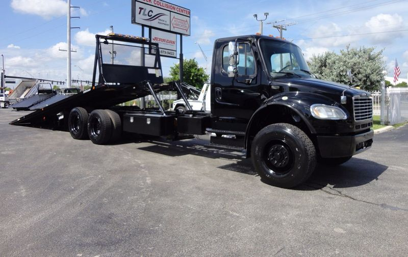 2012 Freightliner BUSINESS CLASS M2 TANDEM AXLE.. JERR-DAN 28FT INDUSTRIAL 15 TON ROLLBACK - 16666132 - 1