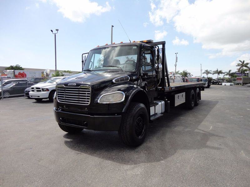 2012 Freightliner BUSINESS CLASS M2 TANDEM AXLE.. JERR-DAN 28FT INDUSTRIAL 15 TON ROLLBACK - 16666132 - 33