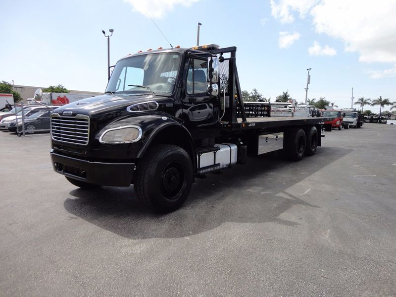 2012 Freightliner BUSINESS CLASS M2 TANDEM AXLE.. JERR-DAN 28FT INDUSTRIAL 15 TON ROLLBACK - 16666132 - 34