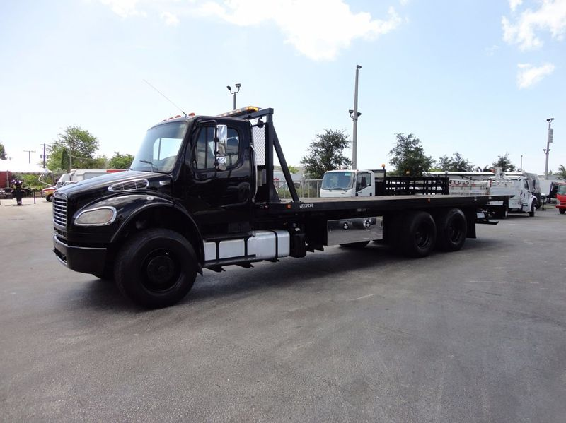 2012 Freightliner BUSINESS CLASS M2 TANDEM AXLE.. JERR-DAN 28FT INDUSTRIAL 15 TON ROLLBACK - 16666132 - 35