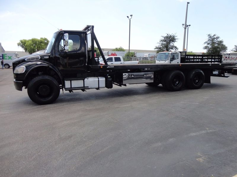 2012 Freightliner BUSINESS CLASS M2 TANDEM AXLE.. JERR-DAN 28FT INDUSTRIAL 15 TON ROLLBACK - 16666132 - 36