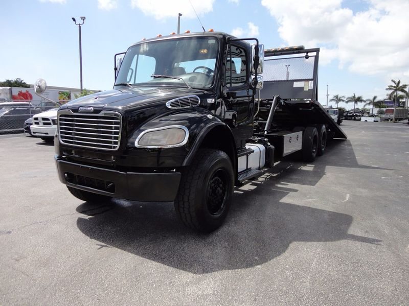 2012 Freightliner BUSINESS CLASS M2 TANDEM AXLE.. JERR-DAN 28FT INDUSTRIAL 15 TON ROLLBACK - 16666132 - 3