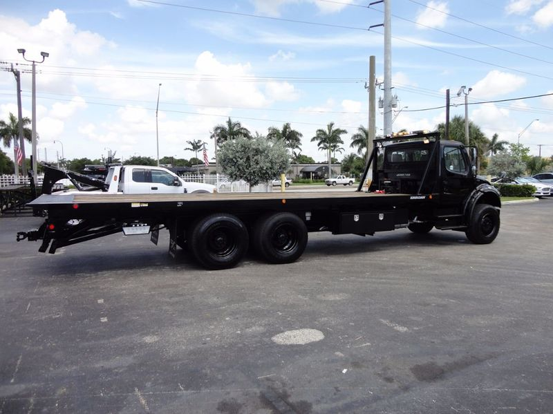 2012 Freightliner BUSINESS CLASS M2 TANDEM AXLE.. JERR-DAN 28FT INDUSTRIAL 15 TON ROLLBACK - 16666132 - 42