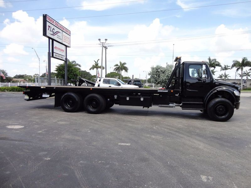 2012 Freightliner BUSINESS CLASS M2 TANDEM AXLE.. JERR-DAN 28FT INDUSTRIAL 15 TON ROLLBACK - 16666132 - 43
