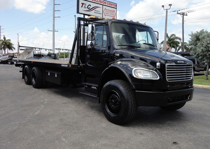 2012 Freightliner BUSINESS CLASS M2 TANDEM AXLE.. JERR-DAN 28FT INDUSTRIAL 15 TON ROLLBACK - 16666132 - 45