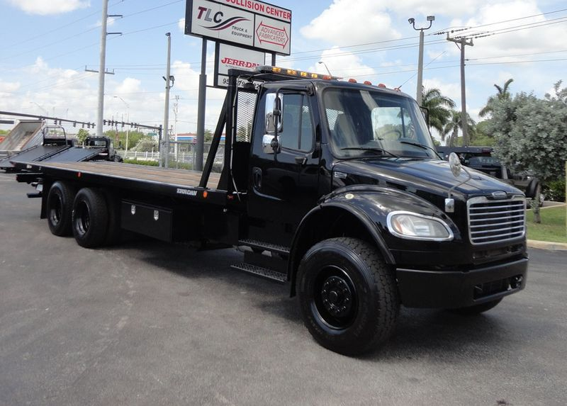 2012 Freightliner BUSINESS CLASS M2 TANDEM AXLE.. JERR-DAN 28FT INDUSTRIAL 15 TON ROLLBACK - 16666132 - 50