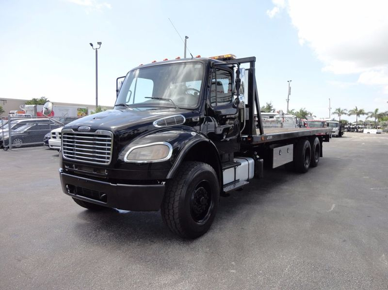 2012 Freightliner BUSINESS CLASS M2 TANDEM AXLE.. JERR-DAN 28FT INDUSTRIAL 15 TON ROLLBACK - 16666132 - 51