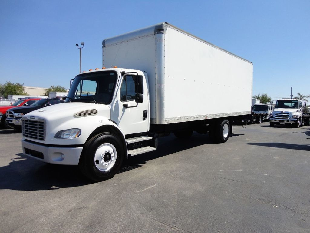 2012 Freightliner BUSINESS CLASS M2 106 25,950LB GVWR UNDER CDL..26FT X 102 X 102 BOX.LIFTGATE - 17456203 - 0