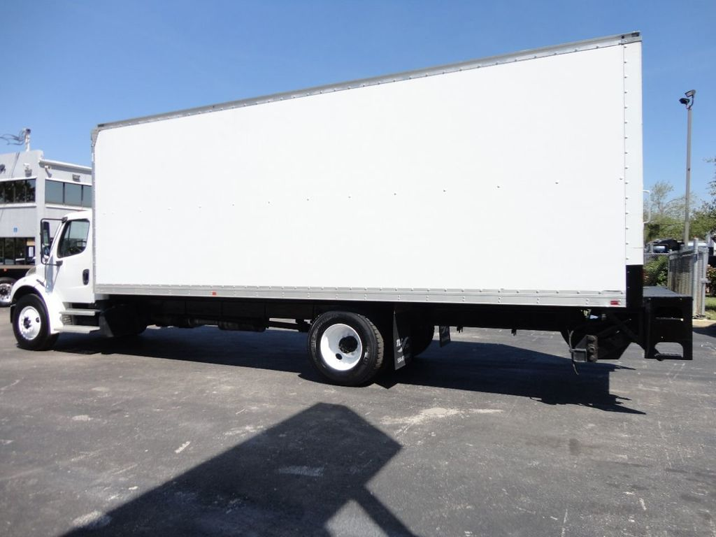 2012 Freightliner BUSINESS CLASS M2 106 25,950LB GVWR UNDER CDL..26FT X 102 X 102 BOX.LIFTGATE - 17456203 - 9