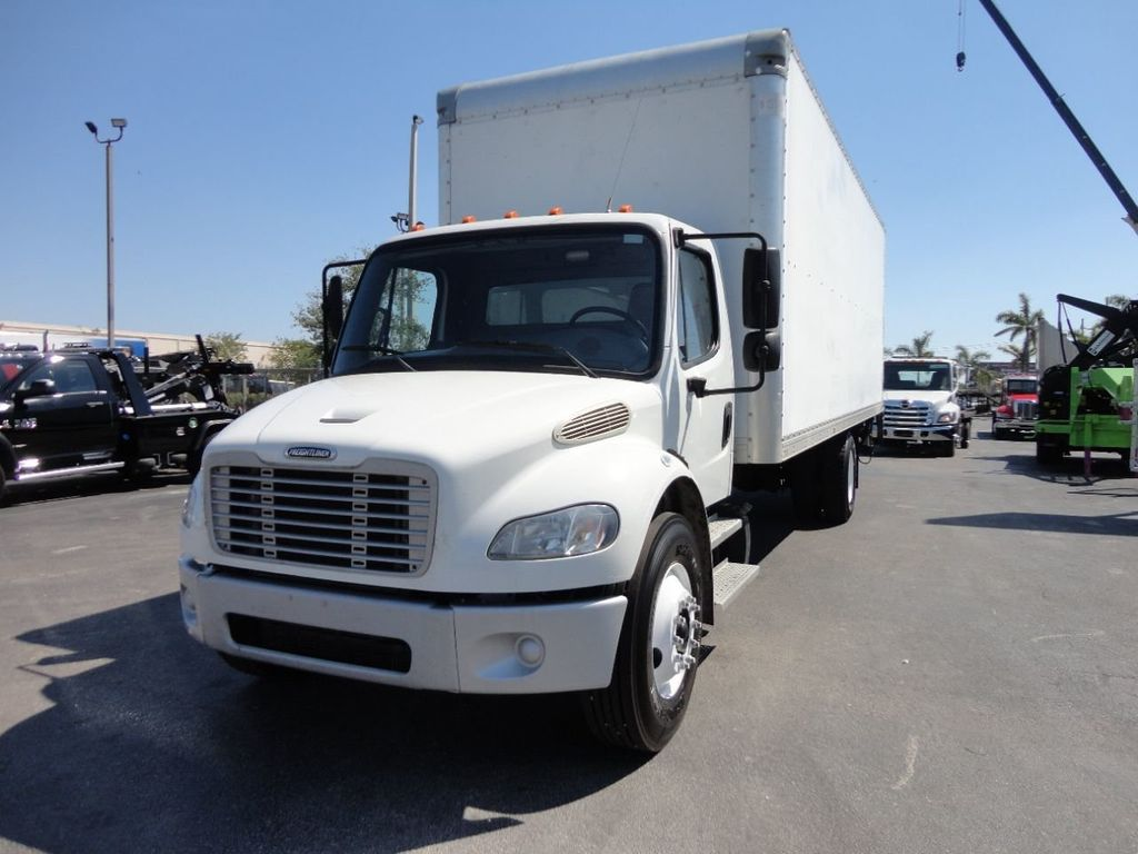 2012 Freightliner BUSINESS CLASS M2 106 25,950LB GVWR UNDER CDL..26FT X 102 X 102 BOX.LIFTGATE - 17456203 - 1