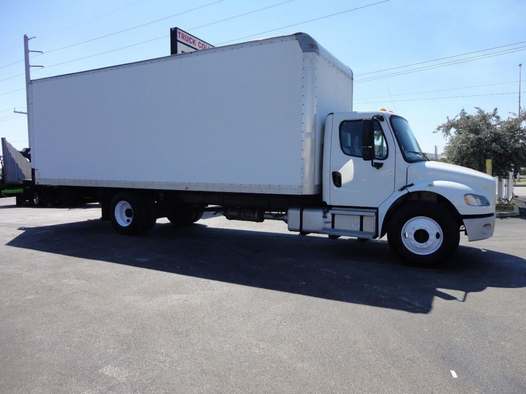 2012 Freightliner BUSINESS CLASS M2 106 25,950LB GVWR UNDER CDL..26FT X 102 X 102 BOX.LIFTGATE - 17456203 - 4