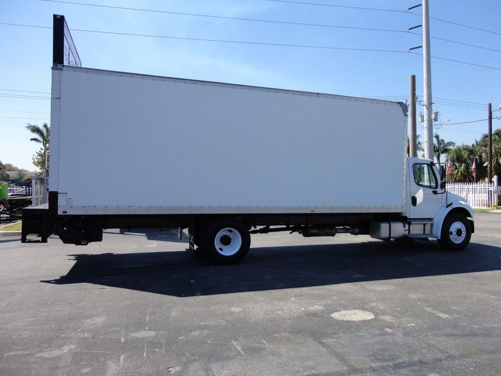 2012 Freightliner BUSINESS CLASS M2 106 25,950LB GVWR UNDER CDL..26FT X 102 X 102 BOX.LIFTGATE - 17456203 - 5