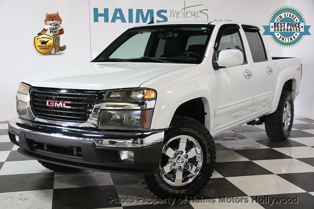 2012 used gmc canyon 2wd crew cab sle2 at haims motors ft lauderdale serving lauderdale lakes. Black Bedroom Furniture Sets. Home Design Ideas
