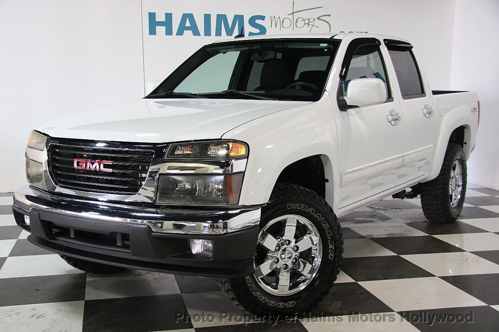 2012 used gmc canyon 2wd crew cab sle2 at haims motors serving fort lauderdale hollywood miami. Black Bedroom Furniture Sets. Home Design Ideas