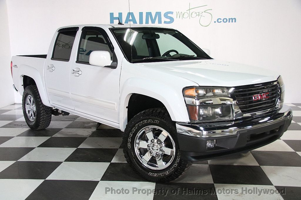 2012 Used GMC Canyon 2WD Crew Cab SLE2 at Haims Motors Serving Fort Lauderdale, Hollywood, Miami ...