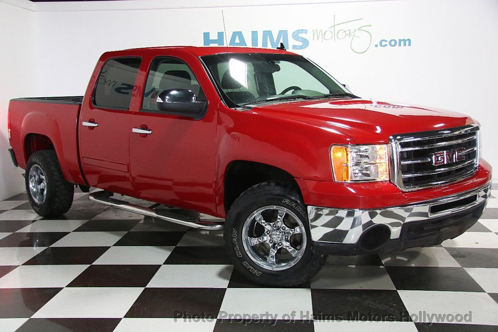 "Gmc Dealer Miami >> 2012 Used GMC Sierra 1500 2WD Crew Cab 143.5"" SL at Haims Motors Serving Fort Lauderdale ..."