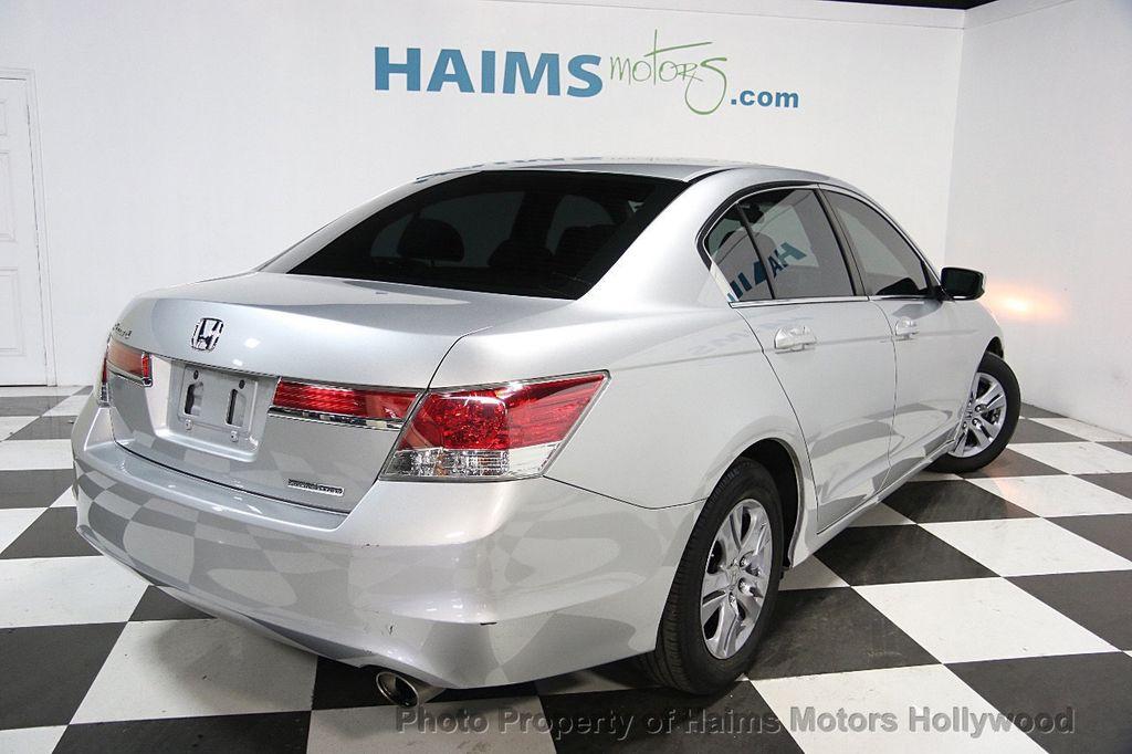 2012 used honda accord sedan 4dr i4 automatic se at haims for Honda hollywood service