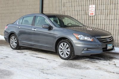 2012 Honda Accord Sedan EXL LEATHER MOONROOF V6